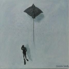 The Studio Art Gallery   2021 Mandela Day Block Art Exhibition   Jessica Smith - Swimming With Sea Life