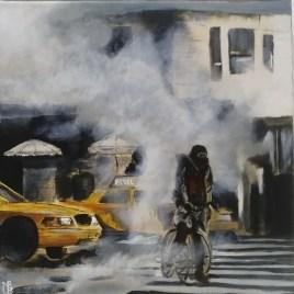 The Studio Art Gallery   2021 Mandela Day Block Art Exhibition   Nadine Bentley - In It But Not of It