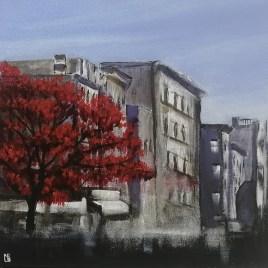 The Studio Art Gallery   2021 Mandela Day Block Art Exhibition   Nadine Bentley - Rooted