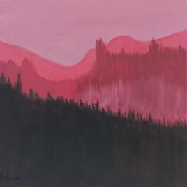 The Studio Art Gallery   2021 Mandela Day Block Art Exhibition   Rhoda Moore - Misty Mountains I