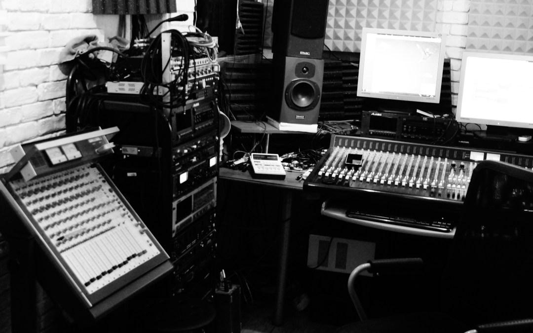 Aujourd'hui session enregistrement :
