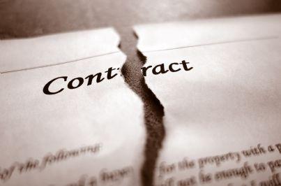 un contratto strappato