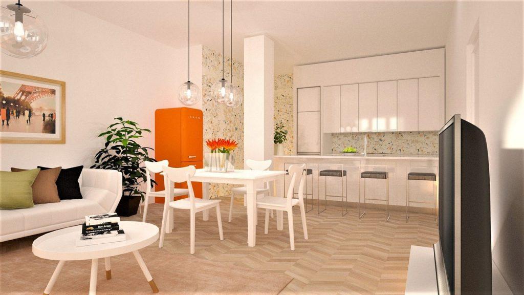 La cucina molto spaziosa contiene anche una zona salotto e. Arredamento Cucina I Consigli Per Renderla Unica Studioceri