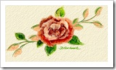 Barb Hartsoon - Don's Rose Painted