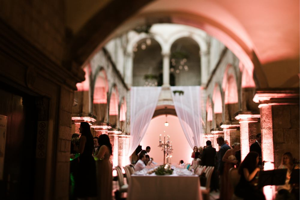 Dubrovnik Wedding at Sponza Palace