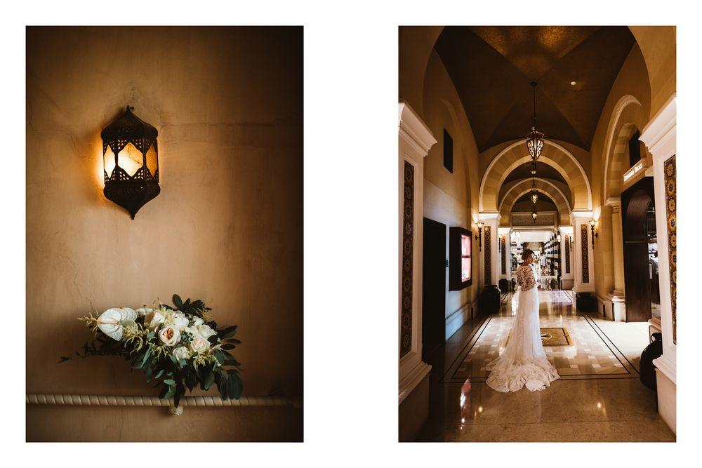 Beautiful interiors of Dubai's hotel Al Qasr