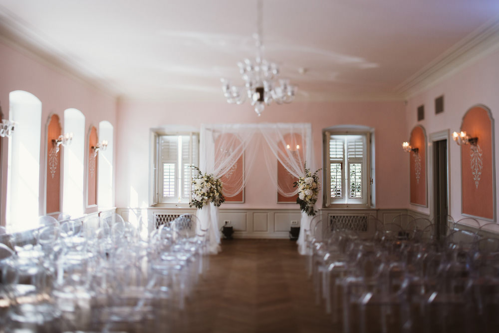 Beautiful Villa Polesini wedding Poreč