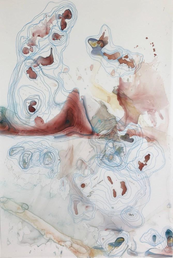 Kariann Fuqua, Impossible Containment, 2019, mixed media artwork, studioELL FLATFILE