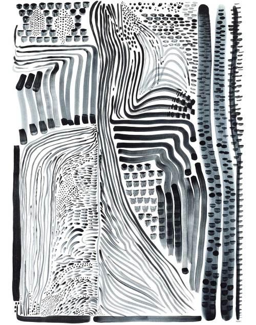 Black Flow 2 Print