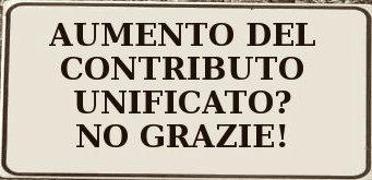 Nuova batosta in vista: aumenta (ancora) il contributo unificato