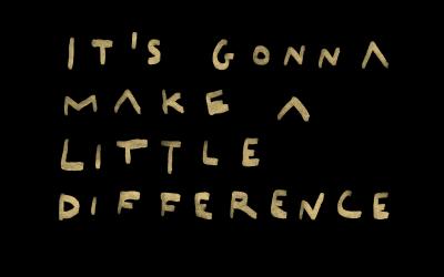 """It's gonna make a little difference"" Il nuovo singolo di Fanelly"
