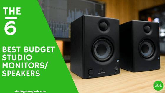 best budget studio monitors for 2018
