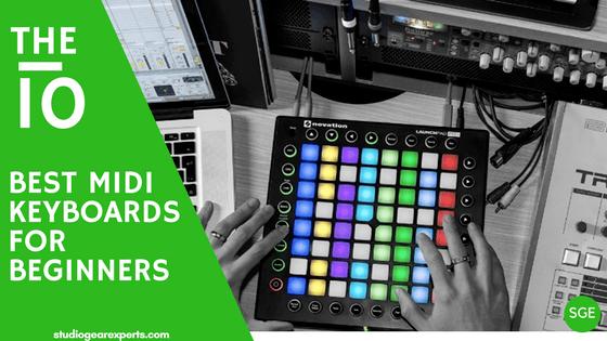 best midi keyboard controllers for beginners