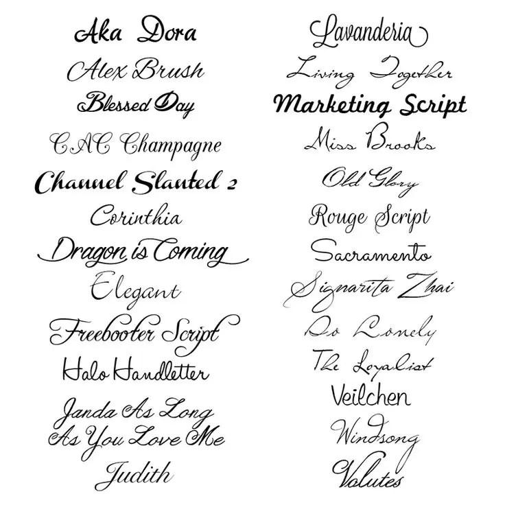 25 Free Script Fonts Studio Guerassio