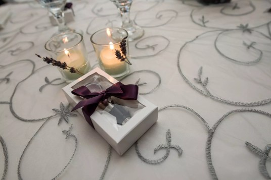 Favors and candles