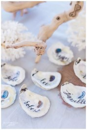 Shells : http://www.ellesonevents.com/journal/chic-sea-glass-beach-wedding-south-seas-destination-wedding-hunter-ryan-photography
