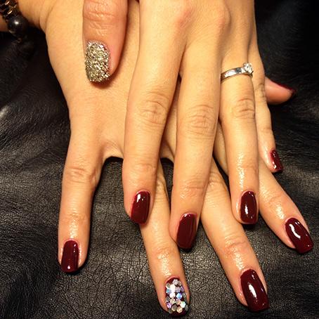 Gellack naturlig nagel