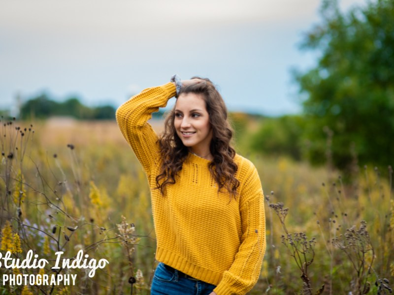 Senior Pictures Spotlight: Rustic Barn, Wildflowers and Beach Volleyball