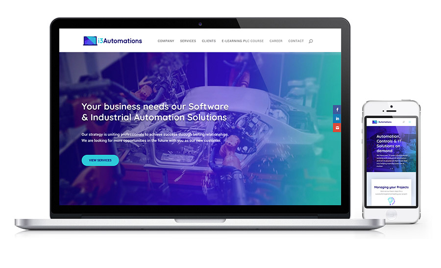 i3Automations - Controls Engineering website