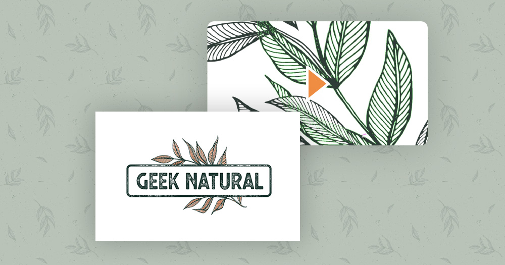 geek natural logo