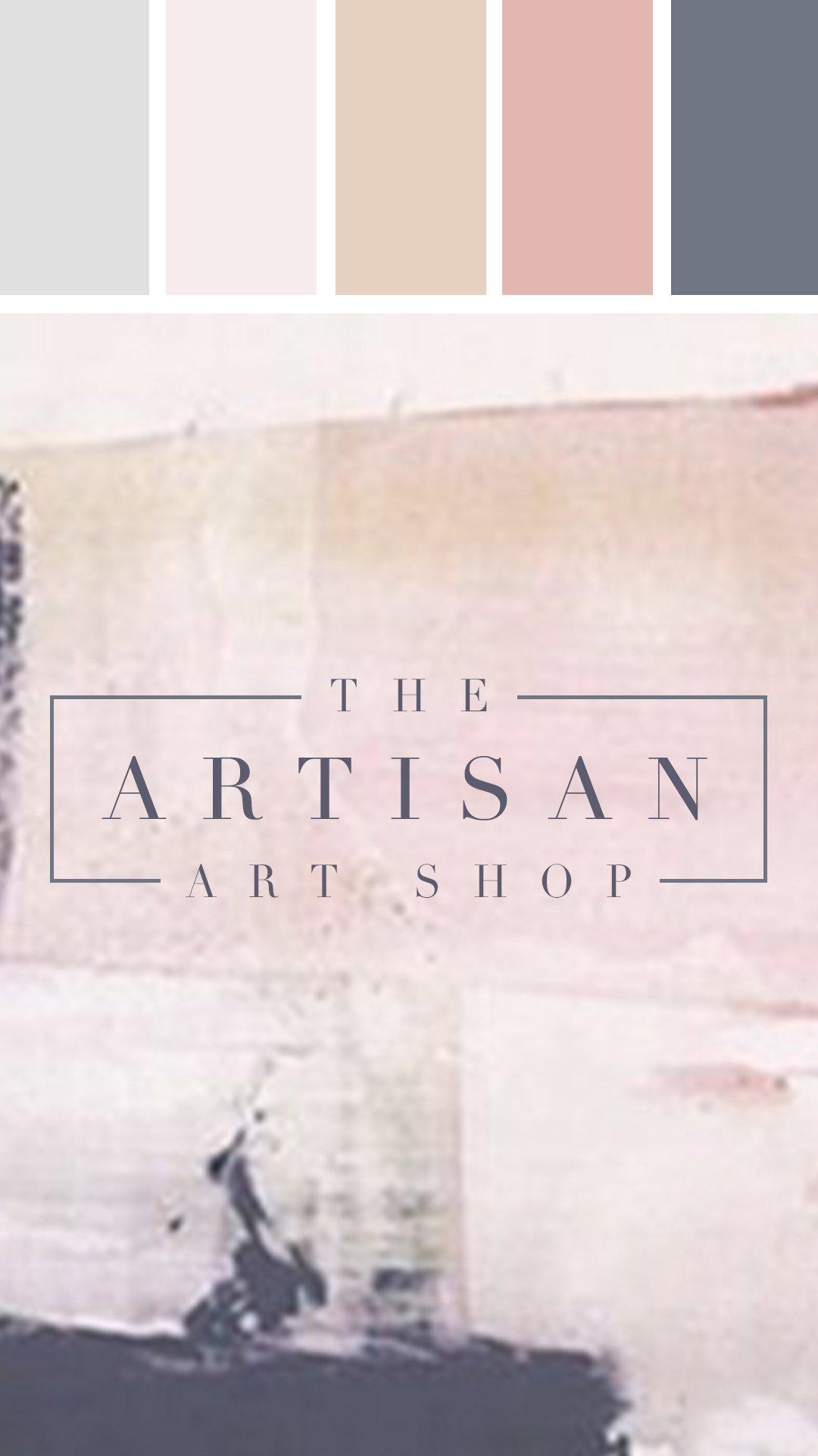 the artisan art shop logo
