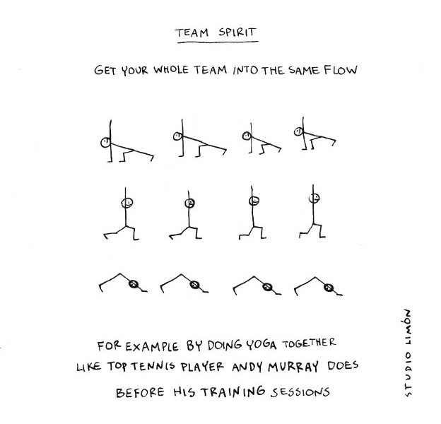Team Spirit – infographic