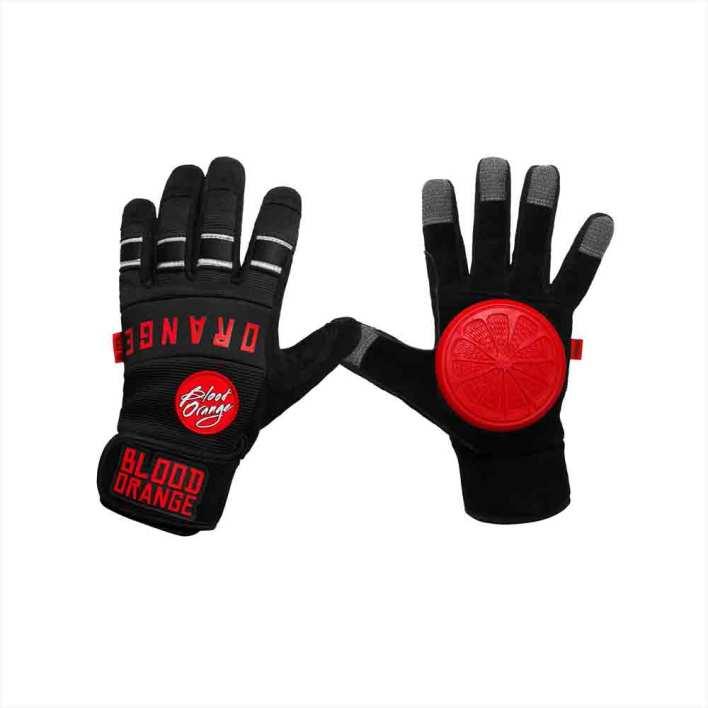 BLOOD ORANGE Slide Gloves Knuckles
