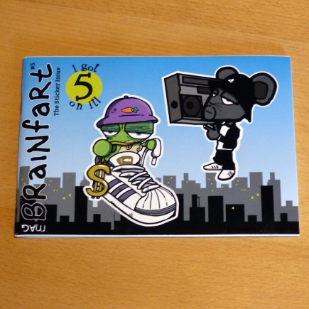 Brainfart Stickermag XL Vol 5