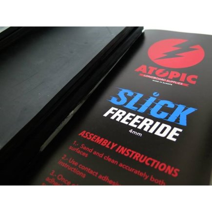 Atopic Slick Freeride Bremssohle 4mm