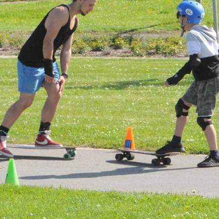 Longboard, Skateboard und Surfskate Workshop