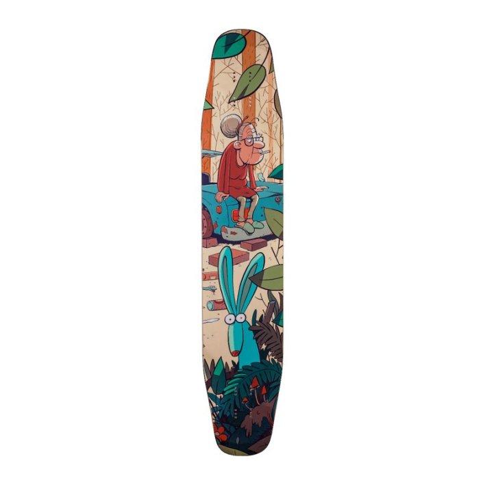 "Alternative Longboards Ostrich Sidewall ""Junkyard"""