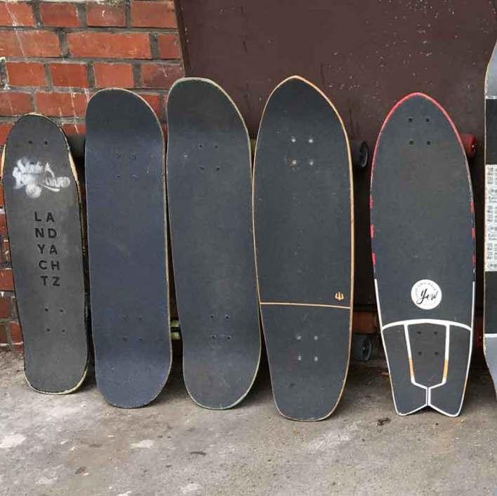 Skateboard-Einzeltraining
