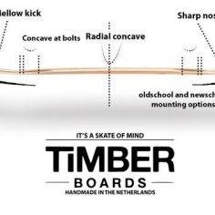 Timber Boards Meerkat Cruiser Sideview