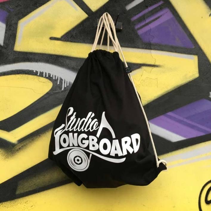 Studio Longboard Gym Bag black