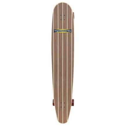 """HAMBOARDS Logger 60"""" Surfskate Longboard - wallnut"""
