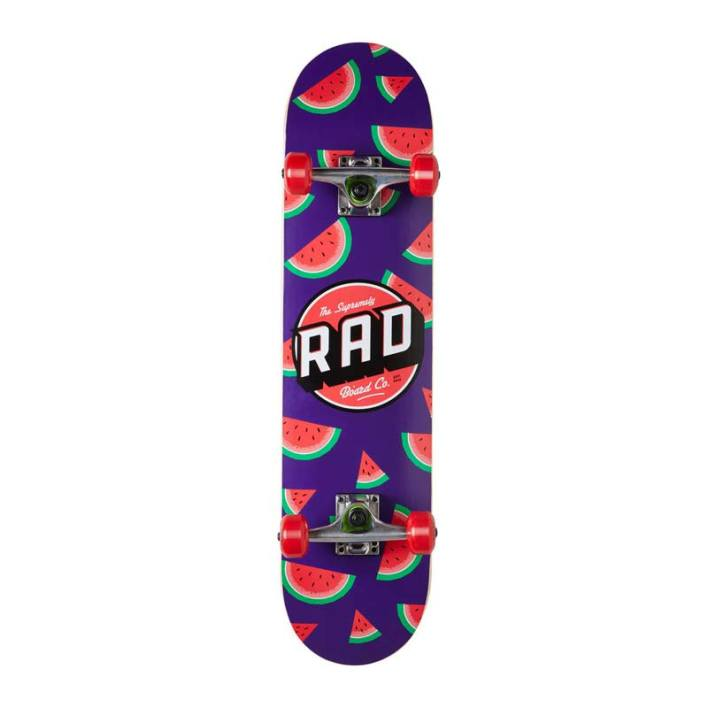 RAD Dude Crew Skateboard 7.75 Watermelon