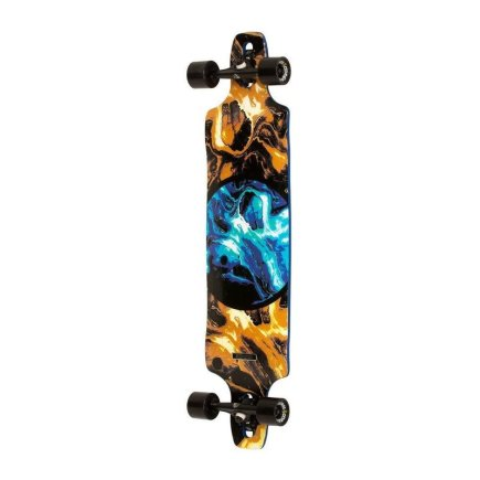 DB LONGBOARDS Paradigm Blue/Gold complete 41""