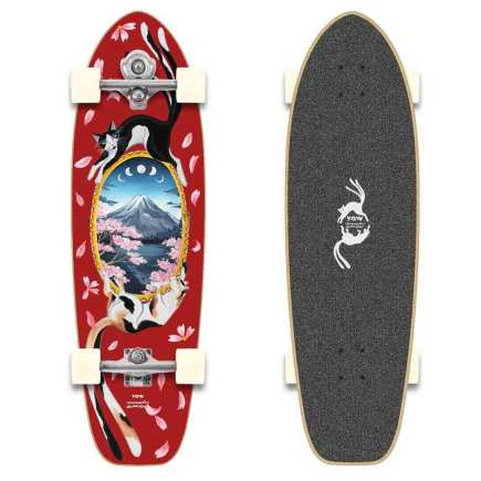 "YOW Mercedes Bellido 34"" Artist Series complete surfskate"
