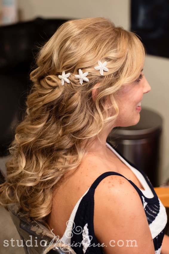 Popular Long Hair Updos For Key West Brides