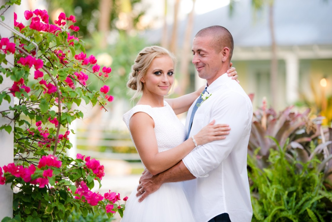 Intimate Wedding on Sunset Key in Key West