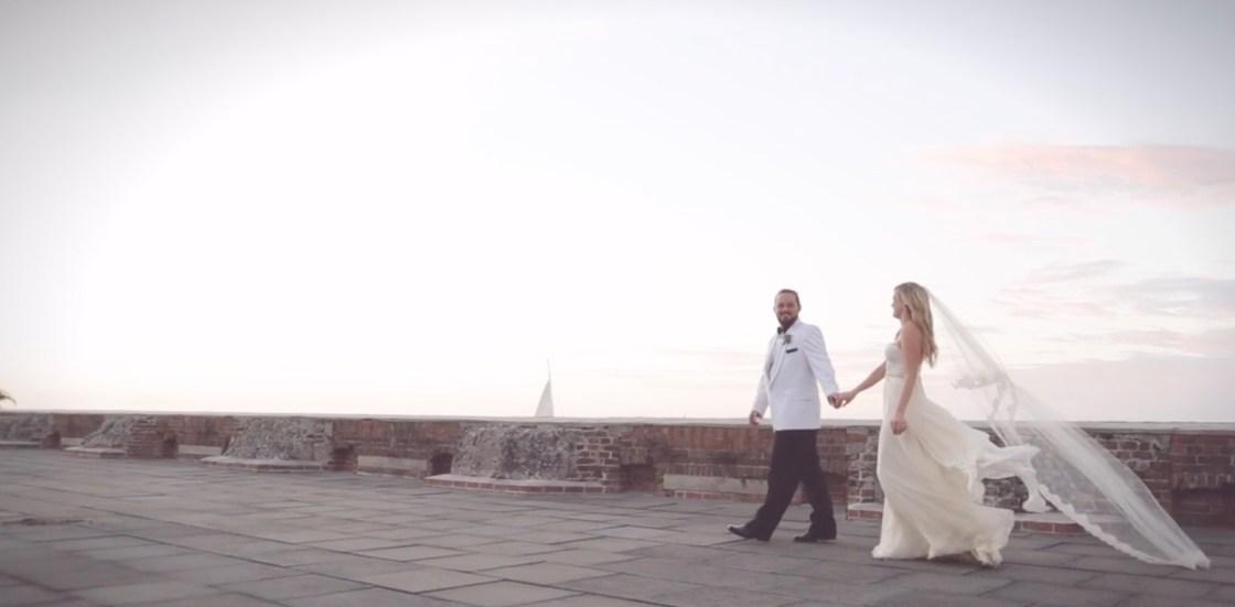 Gorgeous Destination Wedding Fort Zachary Taylor