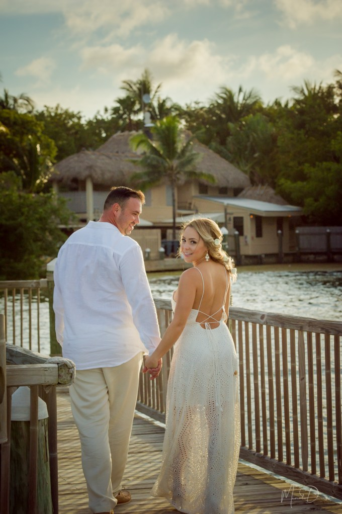 Engagement Pictures on Little Palm Island