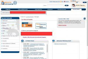 Bug Accesso al sito