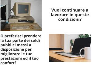 Tecnologia ufficio prima e dopo il bando digitalizzazione