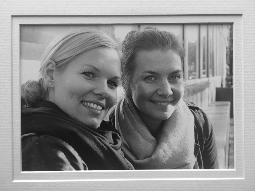 Julie Damhus and Erika Lind together in Vancouver, BC 2011