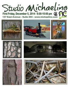 Studio Michaelino First Friday Dec 5 2014