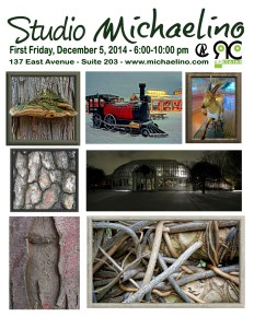 Studio Michaelino First Friday Dec 5 2014