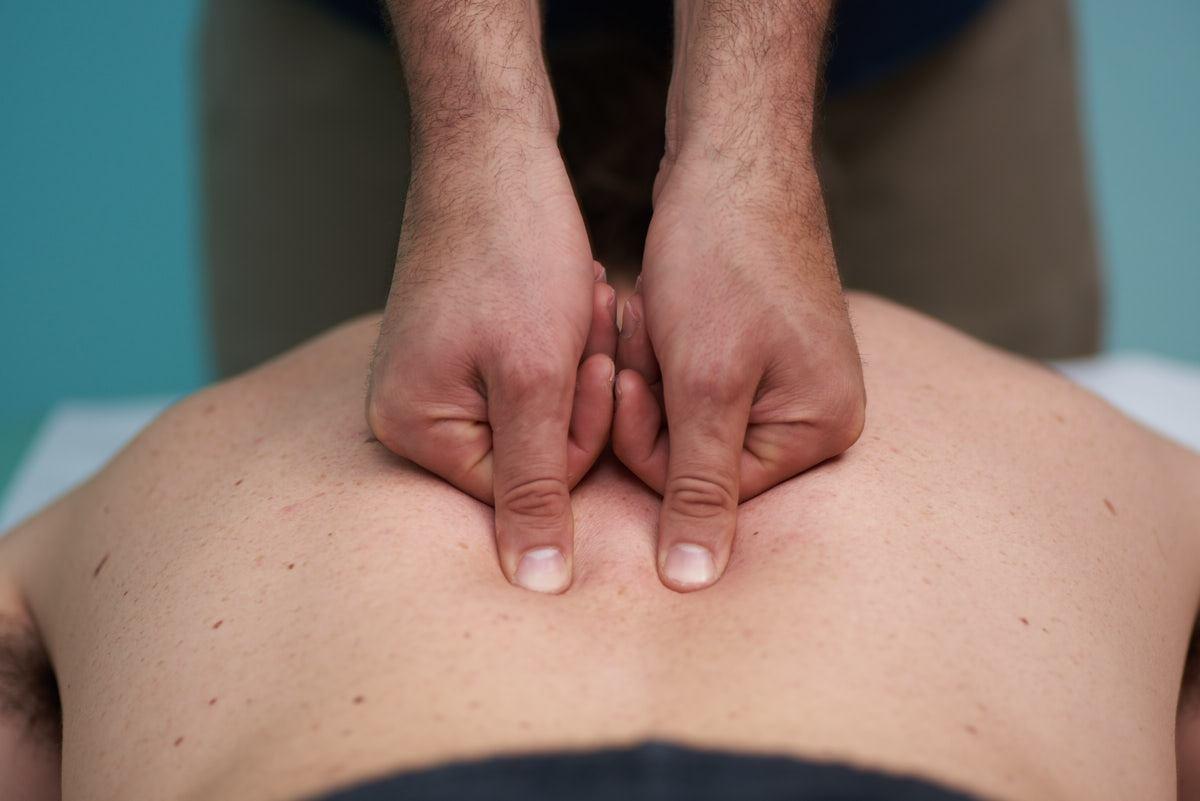 trattamento massoterapico