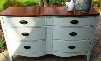 """Stripped, Refinished and Painted """"Jennifer"""" Dresser"""
