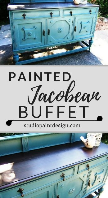 Jabobean Painted Buffet